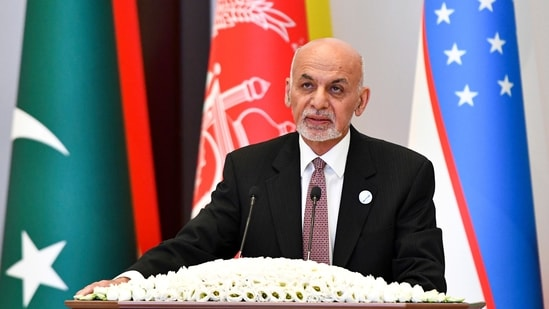 Afghanistan president Ghani's comments came as Afghan forces fought and bombed Taliban fighters and positions on Sunday. (AP File Photo)