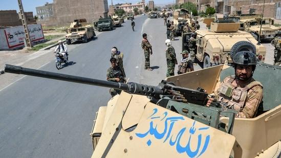 The Taliban has also taken control of 10 border crossing points in Takhar, Kunduz, Badakhshan, Herat and Farah provinces. (AFP Photo)
