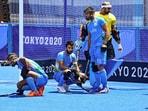 India lose to Belgium 2-5 in Men's Hockey sem-final at Tokyo Olympics 2020(PTI)