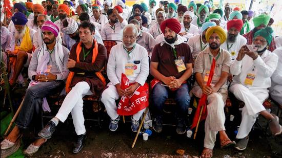 Farmers have demanded a flagship law that will legally guarantee benchmark rates, known as minimum support prices, for all produce, regardless of market conditions. (PTI)