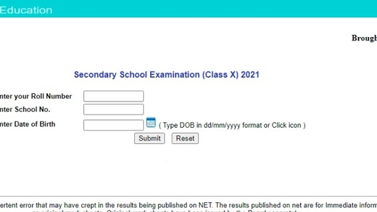 CBSE 10th Result 2021 declared, direct link to check CBSE class 10 scores