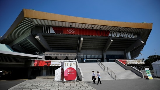 General view of Nippon Budokan arena, the venue of the judo and karate competitions for the Tokyo 2020 Olympic Games, in Tokyo, Japan, July 19, 2021. REUTERS/Issei Kato(REUTERS)