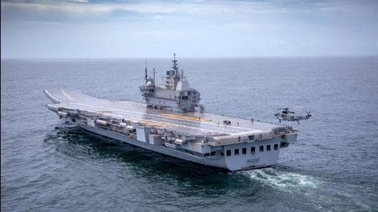 The indigenously built aircraft carrier has been named after INS Vikrant, operated by the Indian Navy from 1961 to 1997 (Photo Courtesy- Indian Navy)