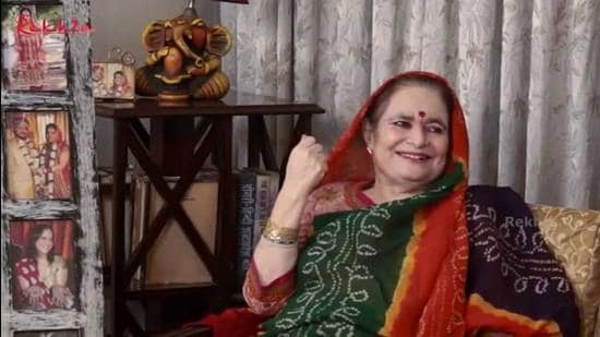 Modern day Dogri language poet, noted author and Padma Shri recipient Padma Sachdev passed away at a Mumbai hospital on Wednesday. (HT PHOTO)