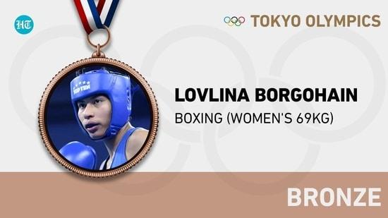 Tokyo 2020: India's Lovlina Borgohain settles for bronze after losing women's welterweight (64-69kg) semis to Turkey's Busenaz Surmeneli(HT Photo)