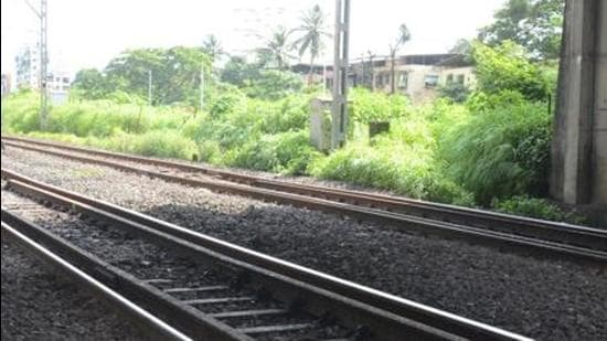 The labourers rescued in Goa were working on the doubling of the railway track from Vasco to Karnataka, which is being staunchly opposed by environmental and anti-coal activists. (HT File Photo/Bachchan Kumar)