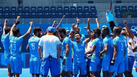 india men's hockey team.(REUTERS)