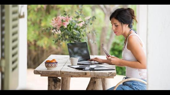 Thanks to the increasing acceptability of remote working culture, the trend is only witnessing an upsurge among young business travellers (photo: Shutterstock (For representational purpose only))