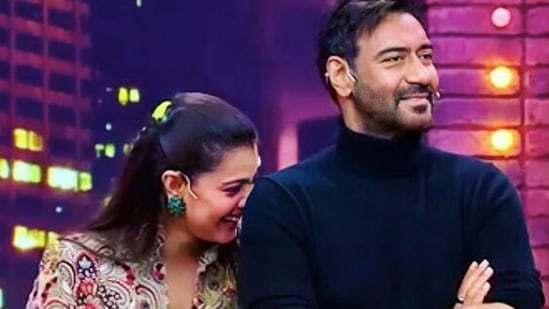 Ajay Devgn wishes wife Kajol on her birthday.