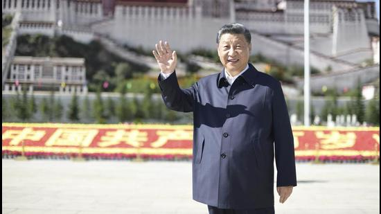 The lesson that India can take from all of this is that first, the insecurity the CCP continually struggles with was revealed in spades in Xi's speech (AP)
