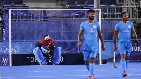 India men's hockey team at Tokyo Olympics. (File photo)