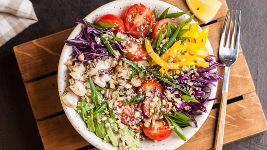 A latest study suggests that eating more nutritious, plant-based food may lower heart disease risk in young adults and in older women.(Unsplash)