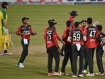 Bangladesh sealed the T20I series with three straight wins. (Getty Images)