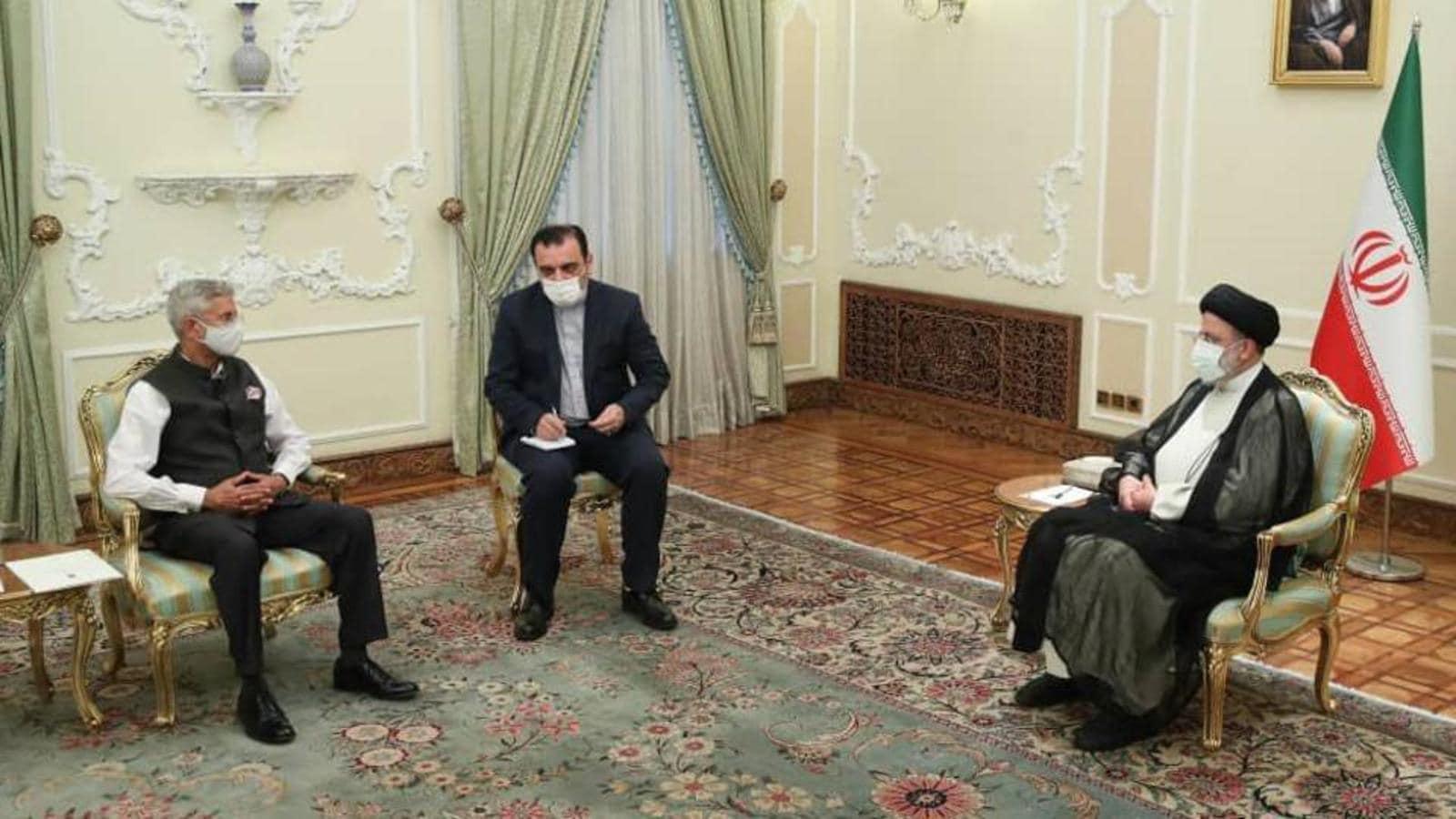 Iran President Raisi backs India's function in establishing safety in Afghanistan