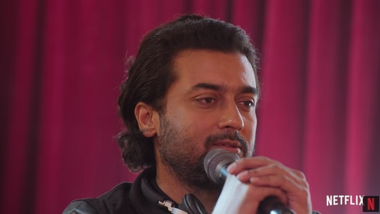 Navarasa movie review: Suriya plays a musician in the short about love.