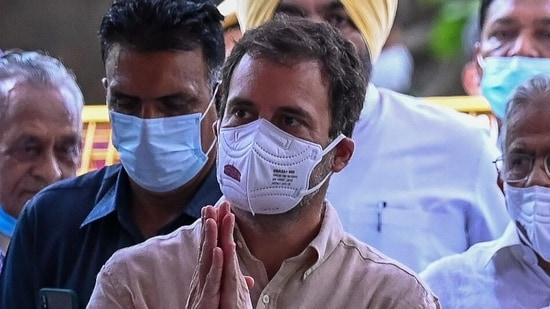 Rahul Gandhi's account was, however, visible and his old tweets could be seen. (AFP File Photo)