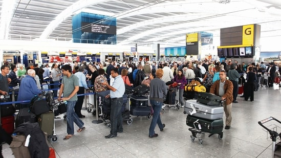 India was moved to 'amber' list of travel restrictions by the UK earlier this week.(Mint file photo)