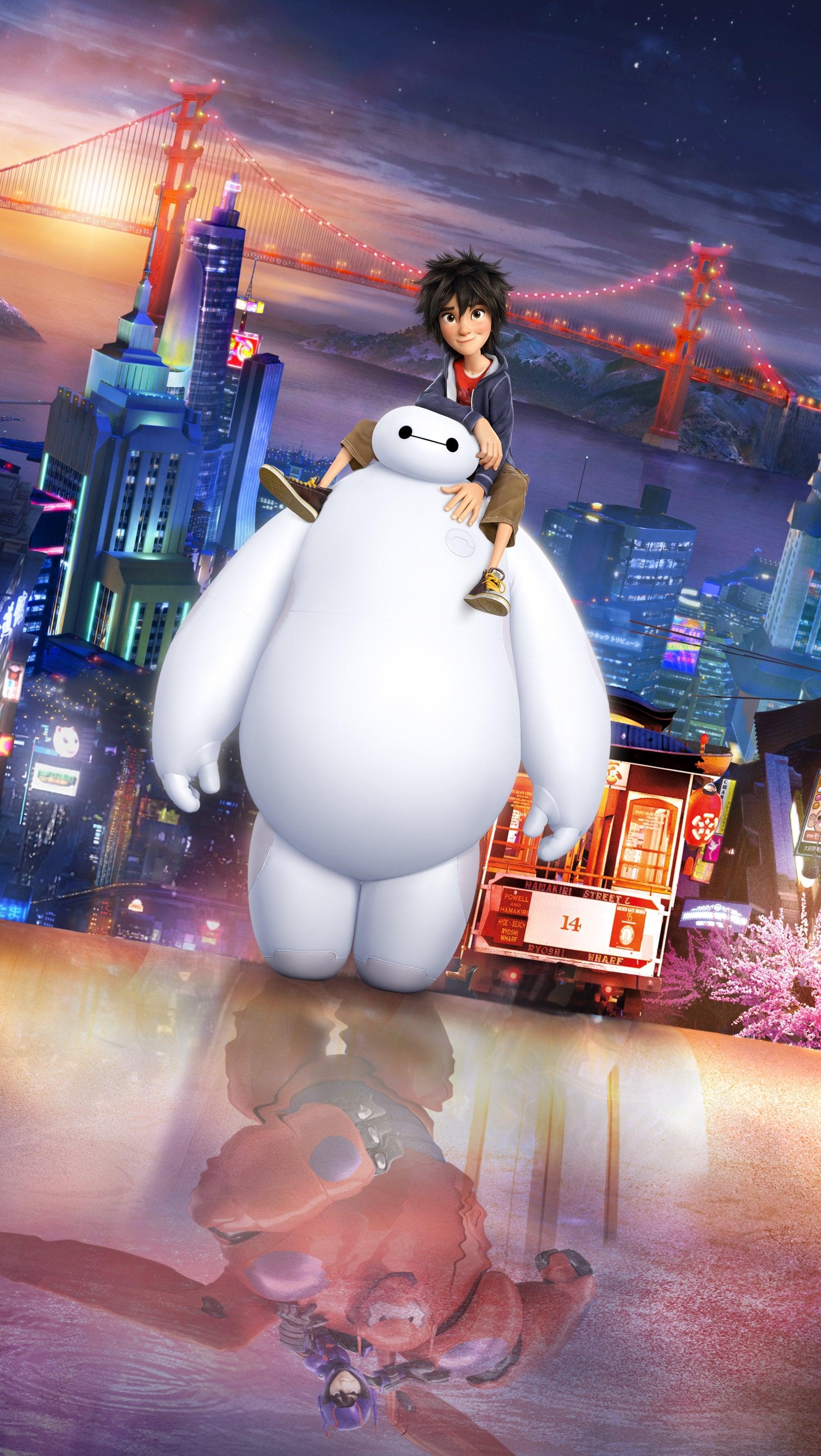 Baymax from Big Hero 6 (Disney)
