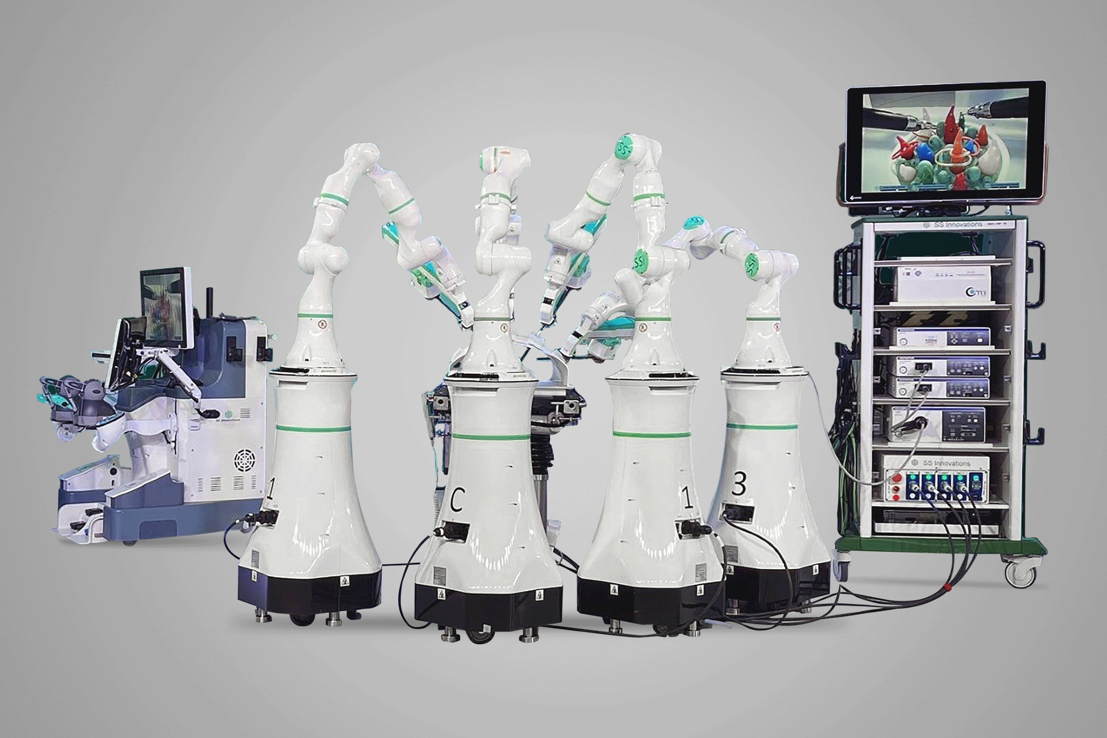 The indigenously developed Mantra robotic system can assist human doctors in complex surgeries, for a fraction of the price of similar imported tech. (SSI Mantra)