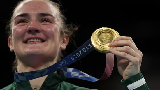 "Olympics: ""Lion King"" inspires humble Kellie Harrington to Irish boxing gold(REUTERS)"