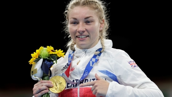 Olympics: From taxi driver to taekwondo and now Tokyo gold for British boxer(REUTERS)