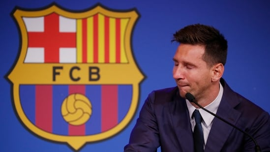 Tearful Lionel Messi confirms he is leaving FC Barcelona, in talks with PSG    Football News - Hindustan Times