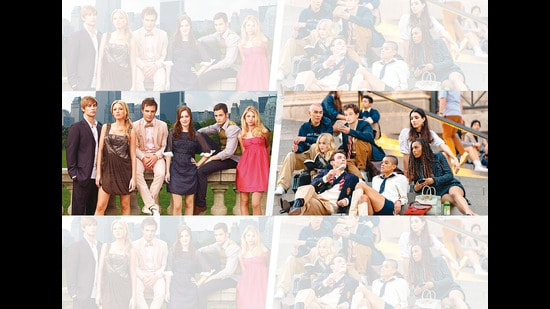 Gossip Girl's reboot (right) was questioned by those who watched the original (left)