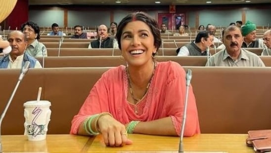 In Dasvi, Nimrat kaur plays a character called Bimla Devi Choudhary.