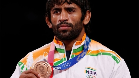 Bajrang Punia won India's second medal in wrestling at the Tokyo Games. (Getty Images)