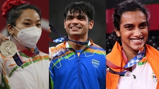 This year is being seen as India's best showing at the Olympics yet, with athletes finishing the campaign with one gold, two silvers, and four bronze medals for the country. (File Photo)