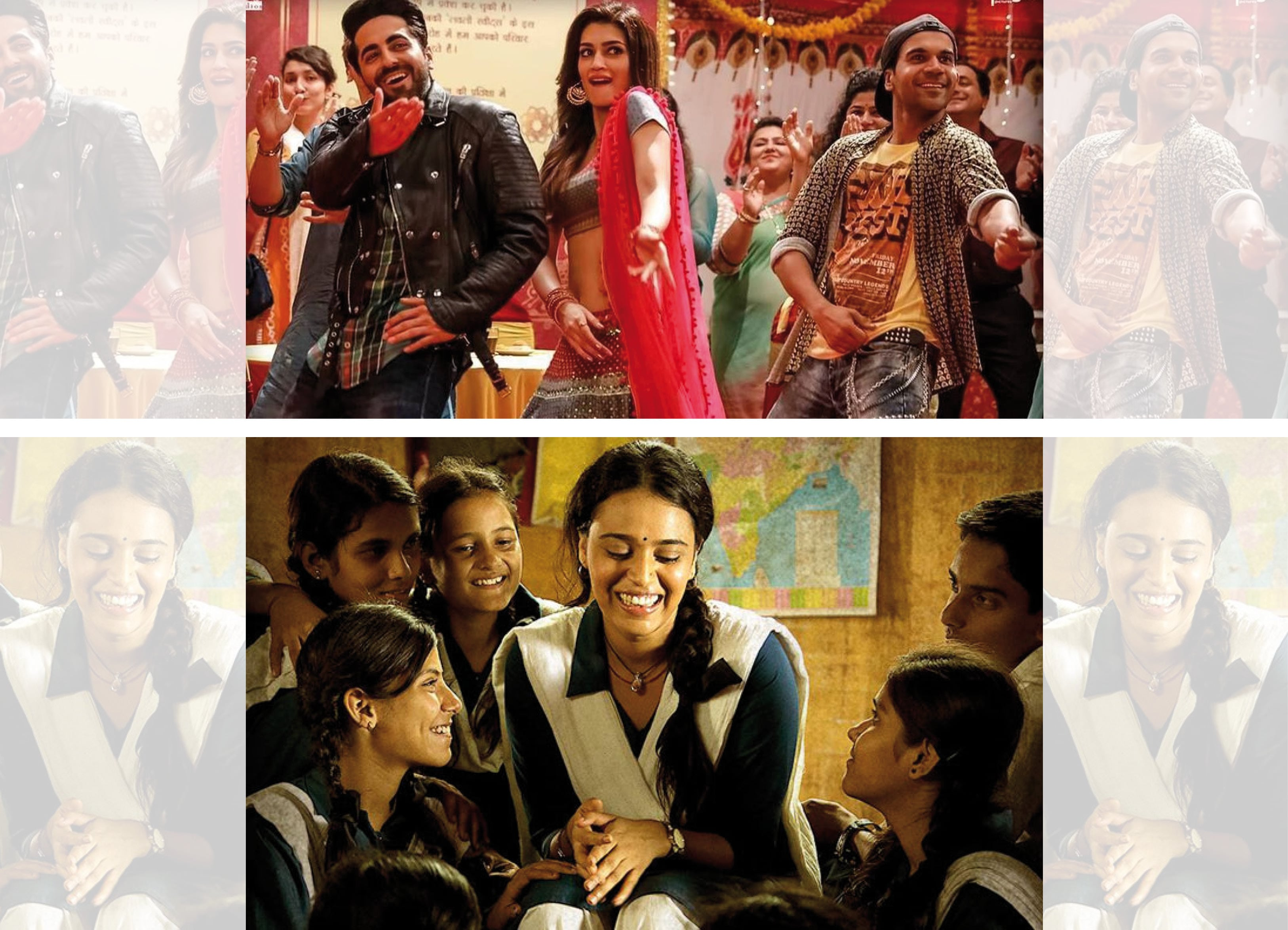 Ashwiny has helmed movies like Bareilly ki Barfi (top) and Nil Battey Sannata (above) among other projects she's currently working on