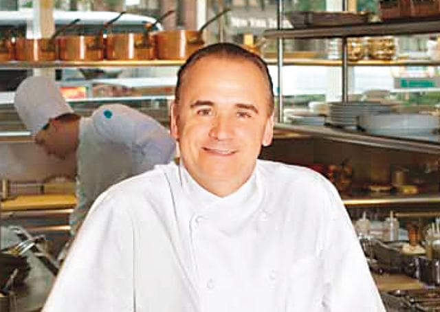 Jean-Georges's molten lava cake was actually a mishap, before he put it on his menu