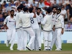 India cricket team celebrates a wicket.(Action Images via Reuters)