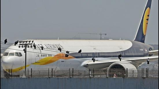 The Jet Airways had also pleaded that the matter about the financial disputes was before The National Company Law Tribunal. (HT Photo)