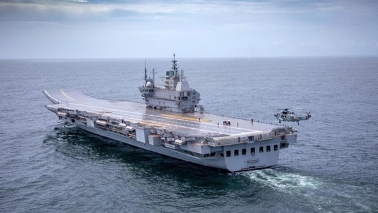 The indigenously built aircraft carrier has been named after INS Vikrant, operated by the Indian Navy from 1961 to 1997.(Courtesy: Indian Navy)
