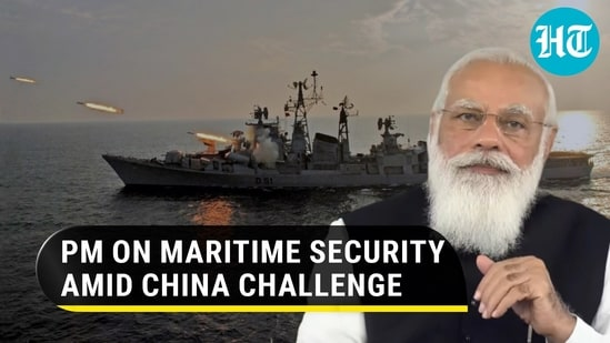 PM Modi said that maritime disputes must be solved peacefully and as per international law (Agencies)