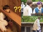 BTS members Jin, Suga and Jungkook in Run BTS episode 146.