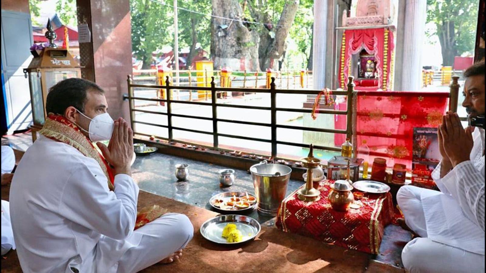 Rahul Gandhi Calls For Restoration Of J&K Statehood, BJP Says Political Appeasement In The Name Of Religion