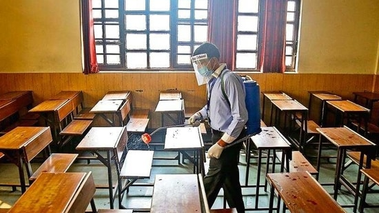 COVID-19: Delhi govt issues SOPs for partial re-opening of schools(File Photo)
