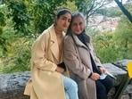 Navya Naveli Nanda with her 'nani' Jaya Bachchan.