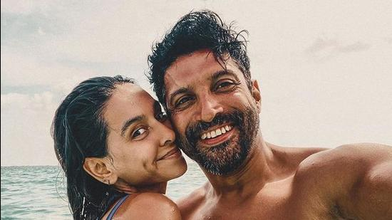 Mostly, Shibani Dandekar let her photos do most of the talking, when it comes to her relationship with actor-director Farhan Akhtar.