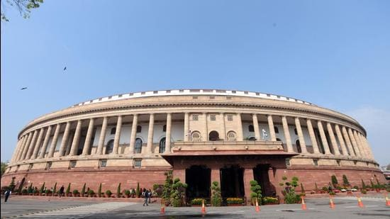 The two Houses went through the motions while passing 15 other laws. Amid continuing disruptions, Lok Sabha, on an average, took less than 10 minutes to pass a law, and Rajya Sabha passed each law in less than half an hour. The passage of these laws was more in form than in substance. In Lok Sabha, there were 13 bills in which no Member of Parliament (MP) spoke other than the minister in charge of the bill. (Sonu Mehta/HT PHOTO)