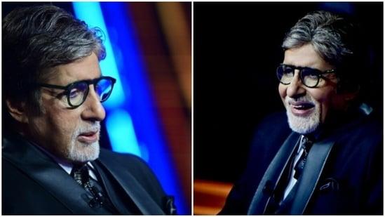 Amitabh Bachchan on season 13 of Kaun Banega Crorepati.