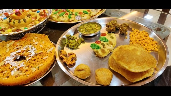 Multi-course meal for Teej is being booked by parents for their daughters, say home chefs in Delhi-NCR. (Photo: Facebook)