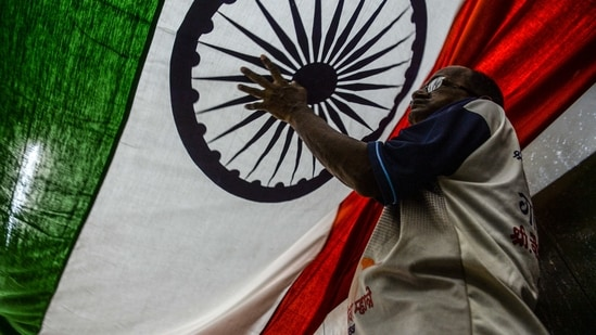 The Congress has also said that it will be organising year-long celebrations across India to mark the 75 years of the nation's Independence.(AFP)