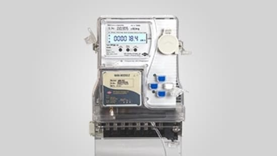 A smart meter by HPL Electric and Power Ltd.(HPL India)