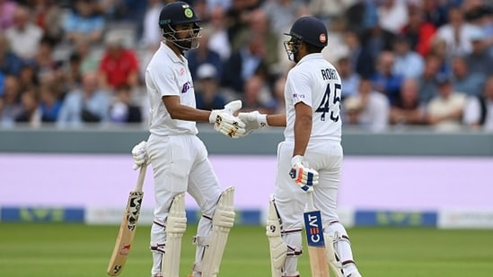 KL Rahul and Rohit Sharma added 126 runs for India's first wicket.(Getty Images)