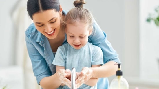 Make sure you help your child follow Covid-19 protocols.(Shutterstock)