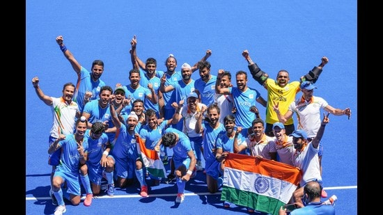The Indian Men's hockey team's inspiring journey at the Tokyo Olympics have made the country proud. The players now look forward to celebrating the milestone moment of winning a bronze medal with their loved ones. (Photo: PTI)