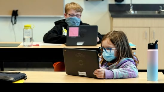 Study suggests ways to keep air quality of classrooms safe during Covid-19 pandemic(AP)